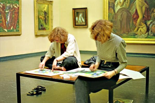 Hambourg, Glockengießerwall, Musée des Beaux-Arts, Kunsthalle, © L. Gigout, 1990