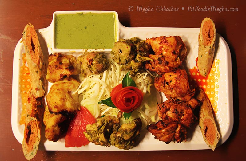 Fit foodie megha shaam e awadhi boulevard the orchid for Awadhi cuisine dishes