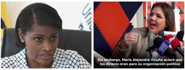 Diana Salazar acusa a exvicepresidenta Vicuña