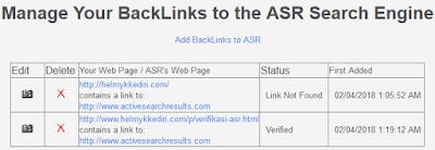 Mendapatkan backlink dari situs asr8