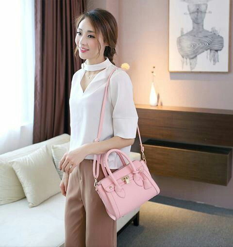 Jims Honey Tiffany Bag Softpink