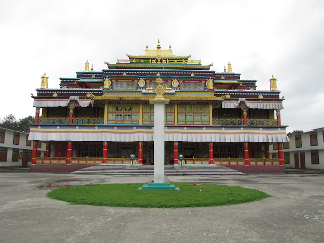 Interior of the Ralong Monastery Ravangla