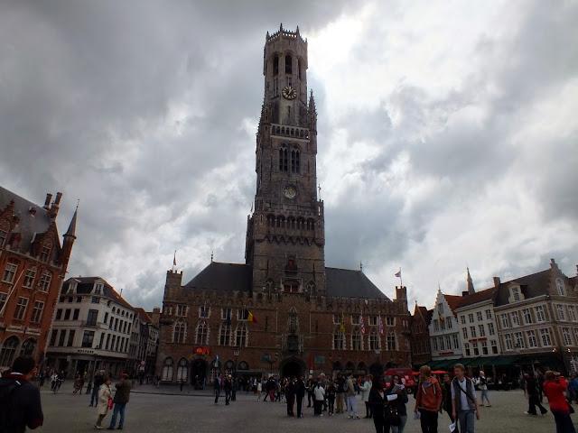 torre del campanario de Brujas imprescindible