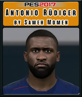 PES 2017 Faces Antonio Rüdiger by Sameh Momen