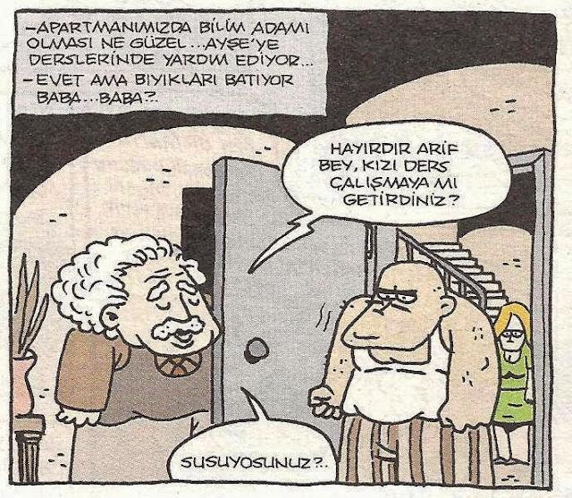 bilim adamı karikatür