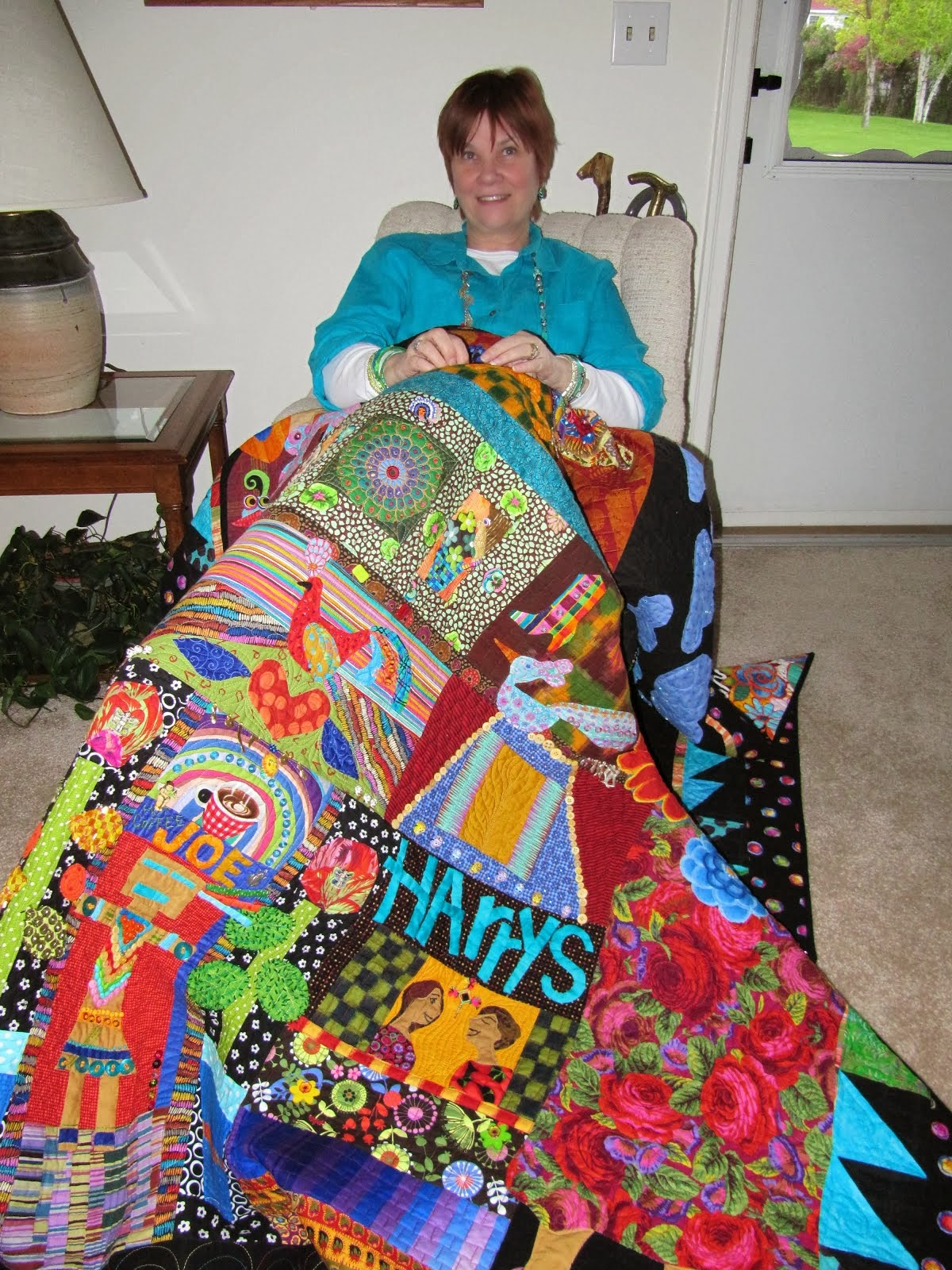 Workshops for Legacy quilts to last and be passed along about YOU
