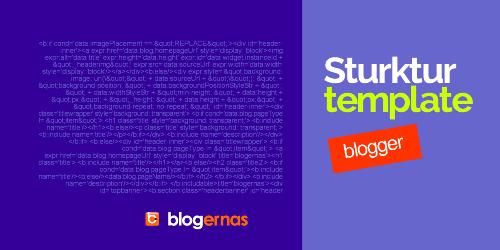 Struktur Dasar Kode HTML Template Blogger