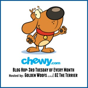 chewy.com monthly blog hop