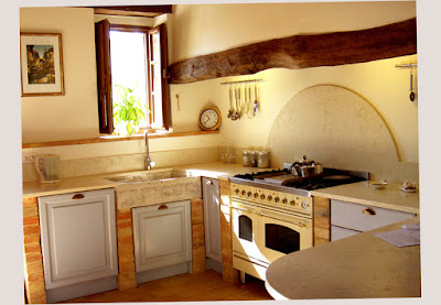Picture Image for Country Kitchen Decor With Window for The Ventilating