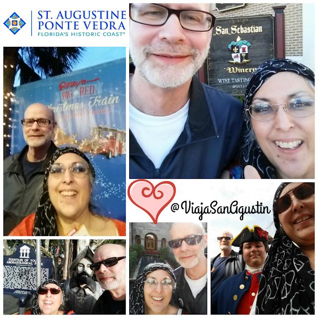 St. Augustine Florida  Viaja San Agustin Valentine's Day