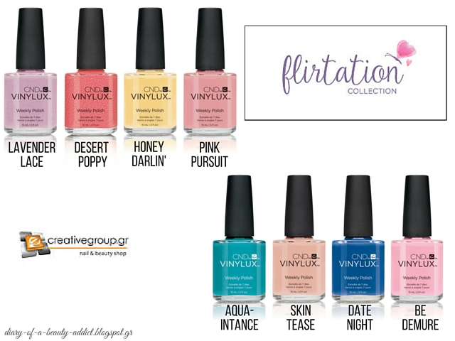 CND Flirtation Collection: Review, Swatches
