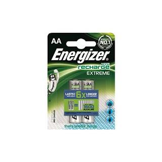 energizer batteria ricaricabile stilo aa