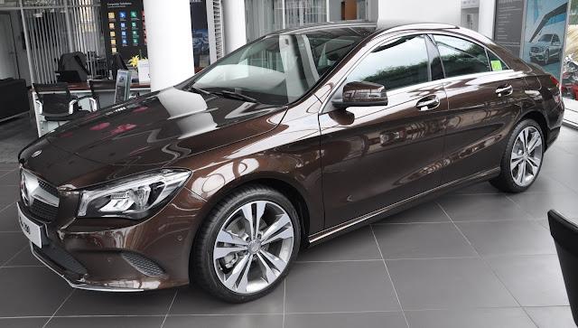 Mercedes CLA 200  thích hợp sử dụng tại đô thị