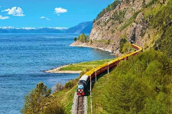 4. ट्रांस-साइबेरियन रेलवे, रूस (Trans-Siberian, World's Longest Railway, Russia)