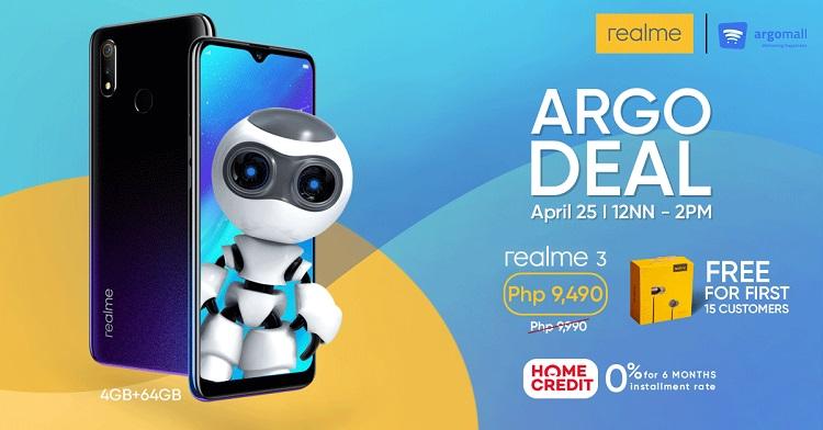 Realme Partners with Argomall; Intros Argo Deal Flash Sale