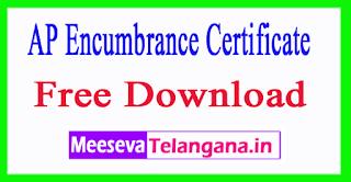 AP Encumbrance Certificate (eEC) Free Download