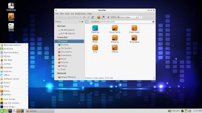 Gambar Desktop PCLinuxOS