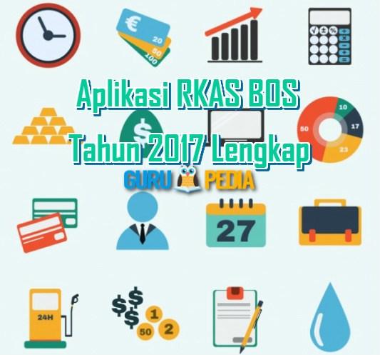 Aplikasi RKAS BOS Tahun 2017 Lengkap Format excel