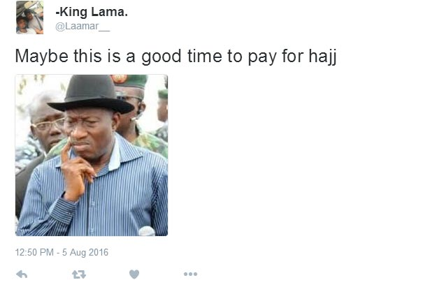 Nigerians react to FG's subsidization of forex for 2016 Hajj pilgrims