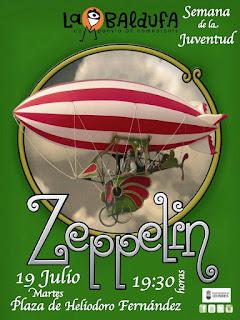 Zeppelin, del teatro la Baldufa en Colindres