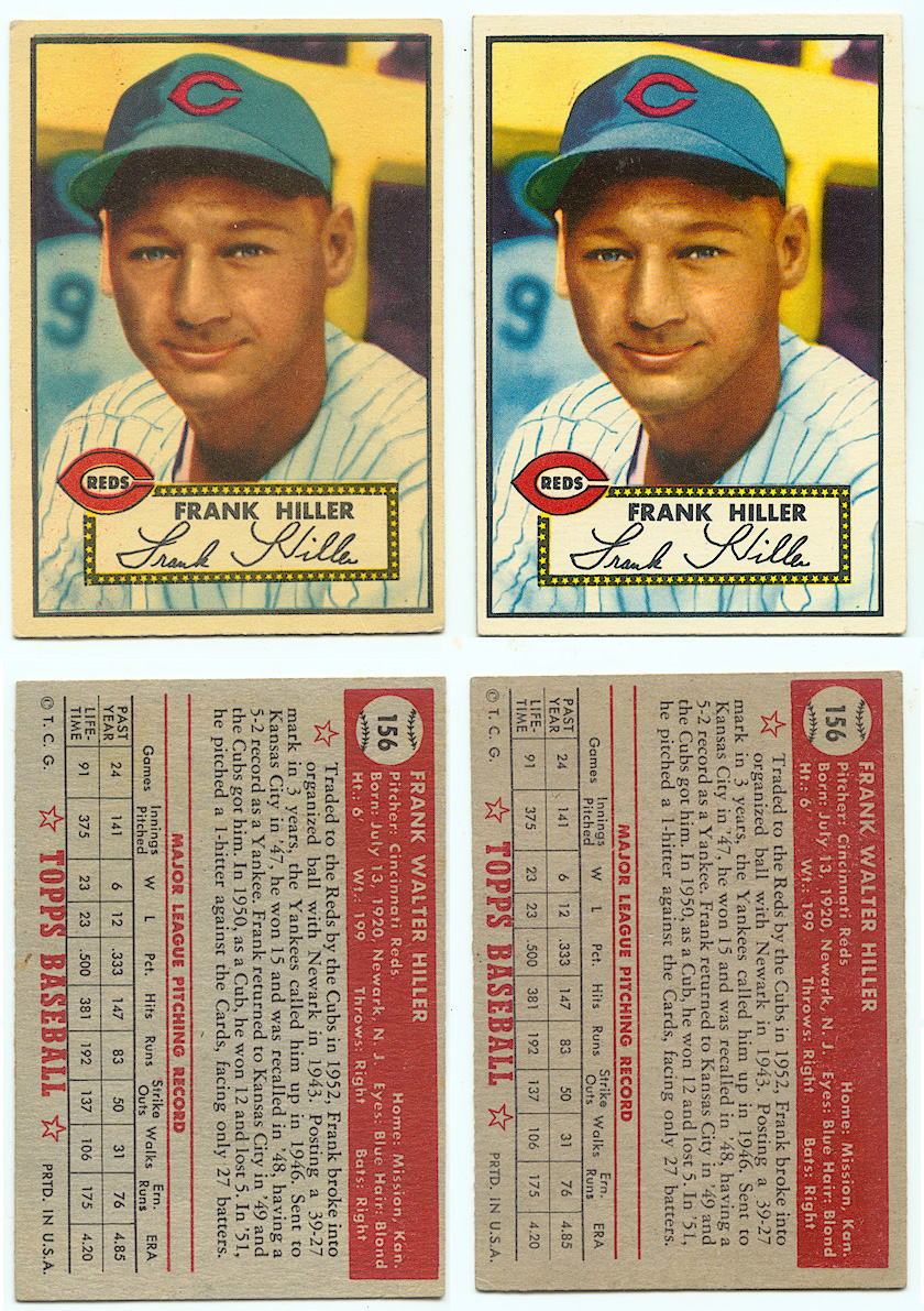 Bob Lemkes Blog 1952 Topps Not Canadian Update 531
