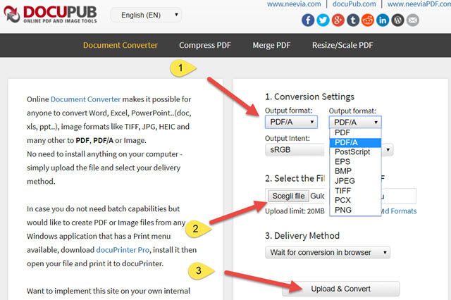 conversione-pdf-a-online