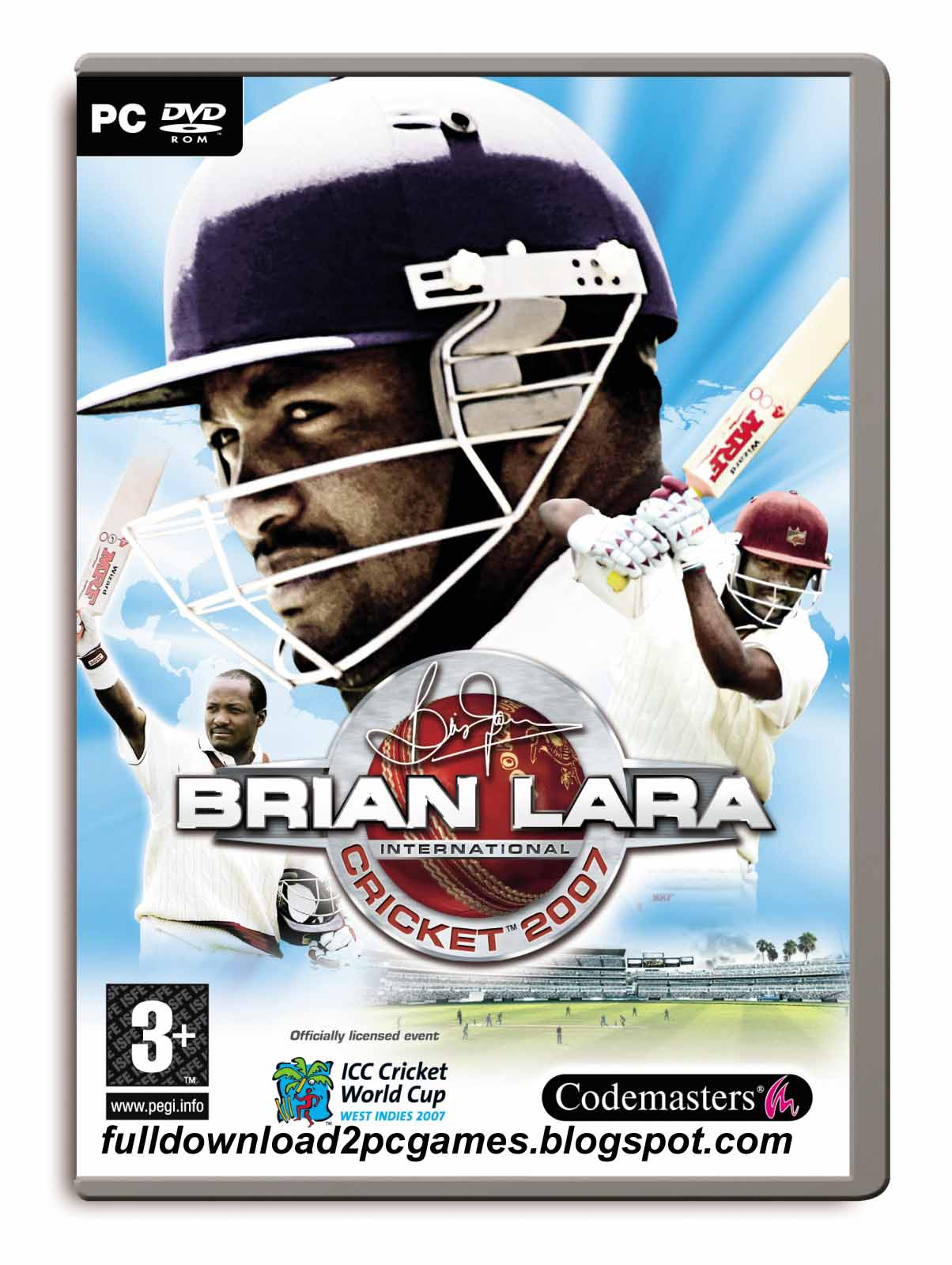 This Is A Wonderful One of The Most Popular Sports Video Game Developed And Published By  Brian Lara International Cricket 2007 Free Download PC Game