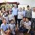 Molina, Bernasconi y Domene supervisaron obras de refacción y ampliación de escuelas