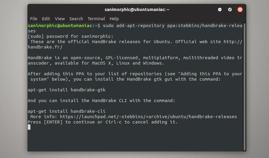 Install HandBrake 1 1 1 on Ubuntu 18 04 and Ubuntu 16 04