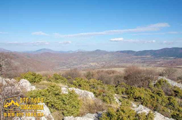 "View from ""Pandele"" peak near Polchishte village, Mariovo region, Macedonia"