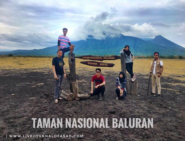 Sehari Keliling Taman Nasional Baluran Jawa Timur