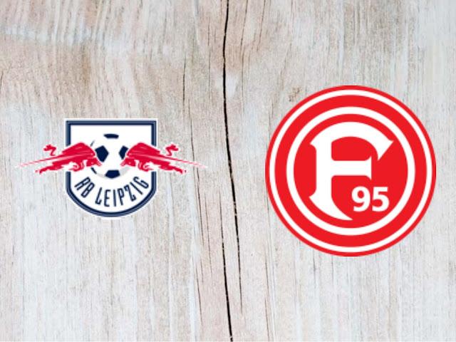 RB Leipzig vs Fortuna Duesseldorf - Highlights 02 September 2018