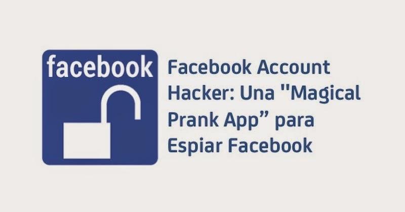 Un informático en el lado del mal: Facebook Account Hacker