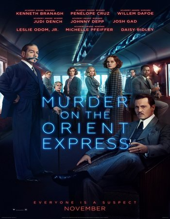 Murder on the Orient Express (2017) English 720p