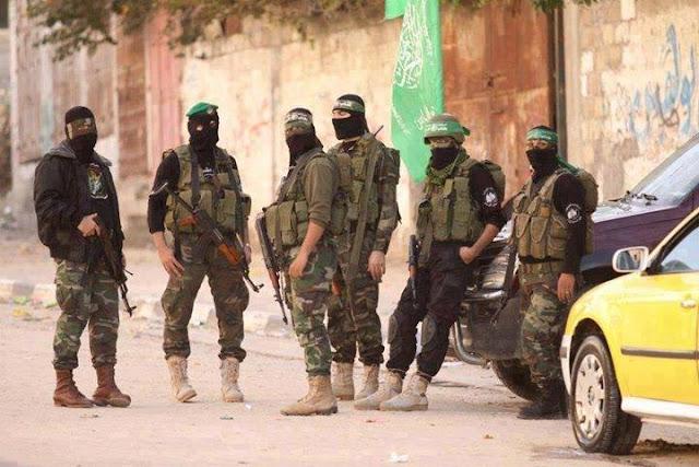 Brigade Izzudin Al Qassam (Hamas) Bersatu Bersama Pejuang Suriah Perangi Syiah Assad