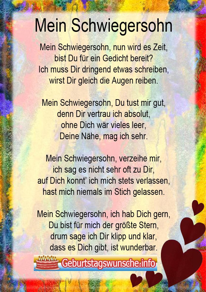 Ausmalbilder Zum Geburtstag Für Tante : Geburtstagsw Nsche F R Den Schwiegersohn W Nsche Zum Geburtstag