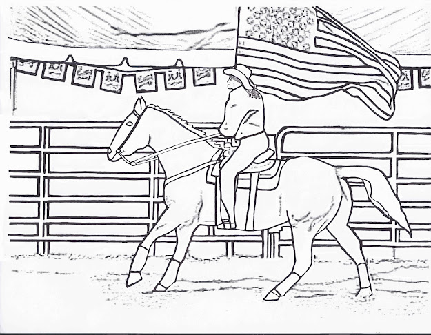 Barrel Racing Coloring Pages Kids Coloring Pages Printable Free