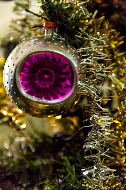 Bolita de arbol de navidad