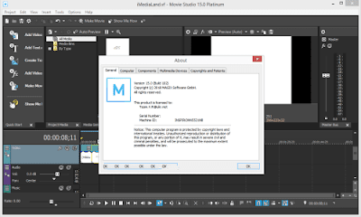 Screenshot MAGIX VEGAS Movie Studio Platinum 15.0 Build 102 (x64) Full Version