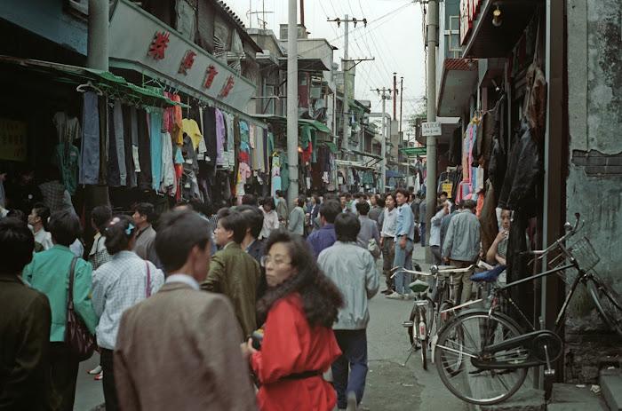 Pékin, Beijing, Xuanwumen, © L. Gigout, 1990