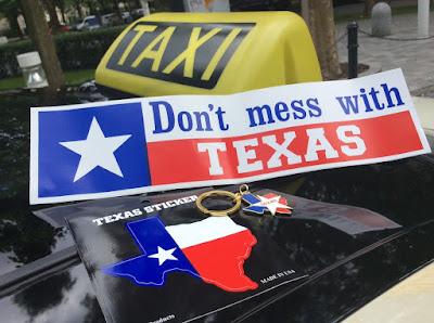 Taxi München Trinkgeld Texas Aufkleber Schlüsselanhänger Dont mess with Texas