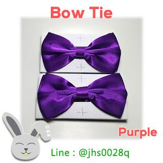 jual bow tie purple jakarta dasi kupu