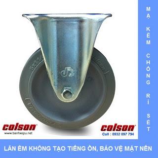 banhxepu.net Bánh xe cao su bánh xe đẩy chịu lực (82~122kg)