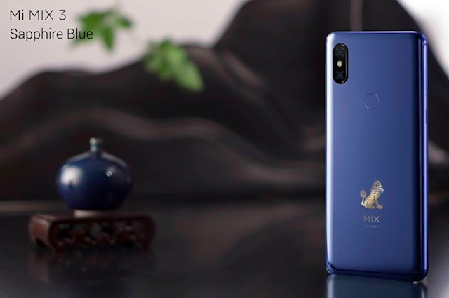 Xiaomi Mi Mix 3 is Official With Snapdragon 845 SoC, 5G Variant Coming in Q1 2019