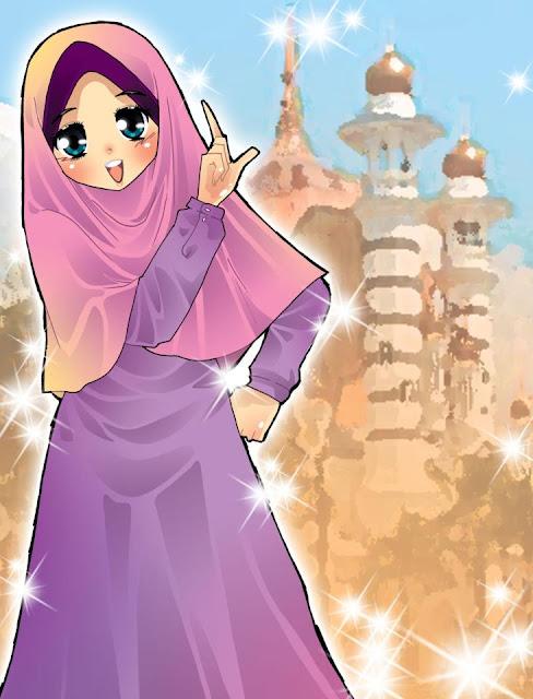Koleksi Gambar Kartun Ana Muslim Dan Muslimah Infokini Macam Macam