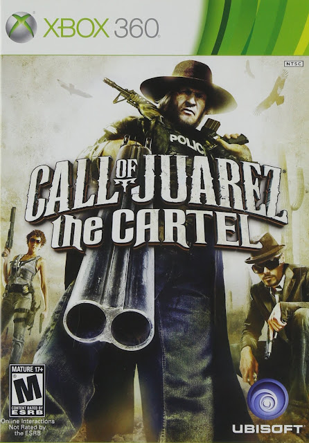 Call Of Juarez The Cartel - Xbox 360 - Multi5 - Portada
