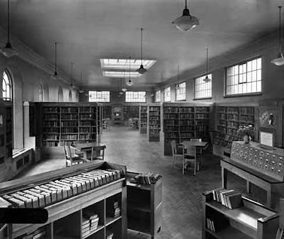 Compton Road Library, Leeds (from Pinterest)