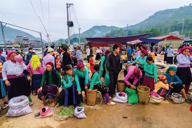 Quan Ba market - Ha Giang