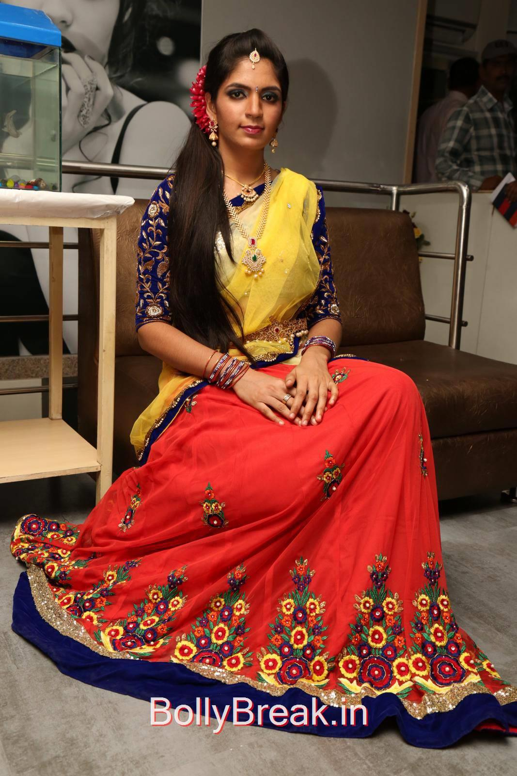 Anusha Stills, Anusha Hot Pics from Bridal Dream Make up At Lakme Salon