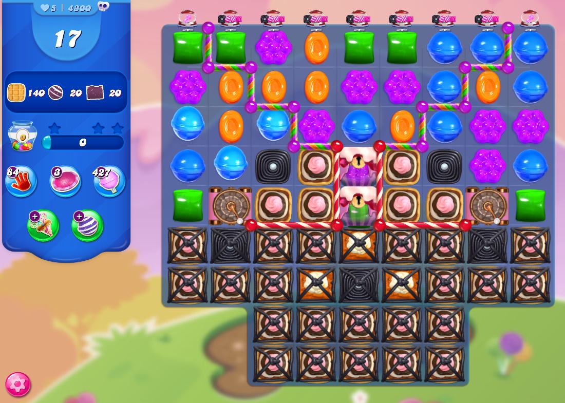 Candy Crush Saga level 4300
